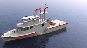 90' patrol boat