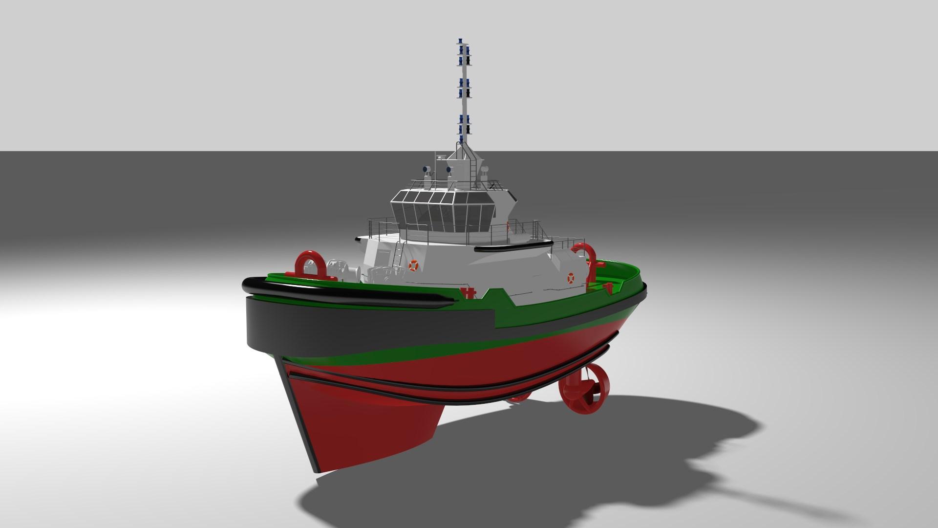 92' - tugboat
