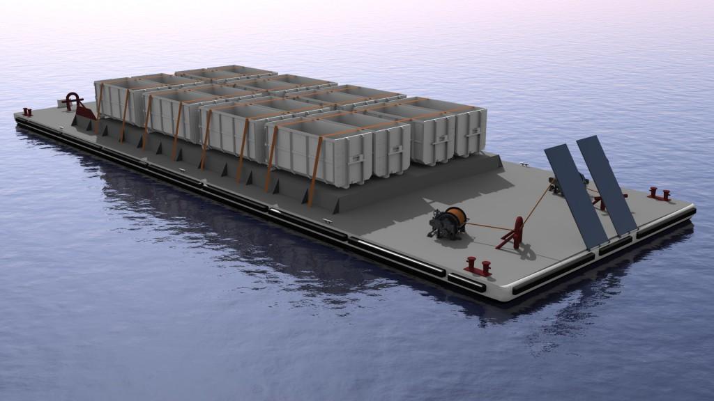 150' Deck Barge