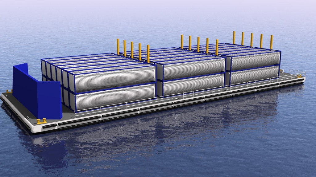 180' LNG barge