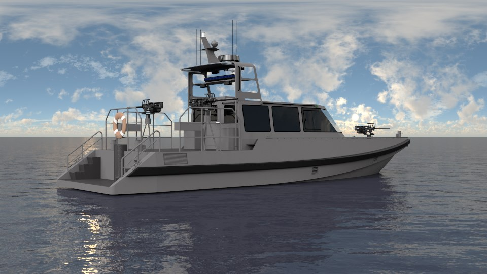 ' patrol boat -3b